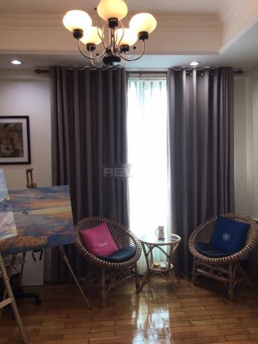 Phòng khách The Manor, Bình Thạnh Căn hộ The Manor ban công hướng Tây, đầy đủ nội thất.