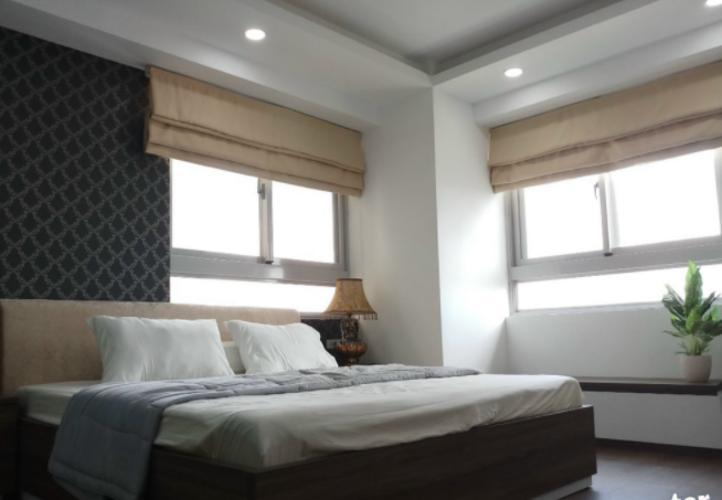 Phòng ngủ Cosmo City, Quận 7 Căn hộ Cosmo City đầy đủ nội thất, ban công hướng Đông Nam.