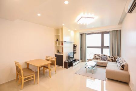 Căn hộ Pearl Plaza tầng cao, đầy đủ nội thất tiện nghi.