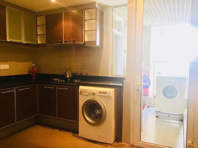 Phòng bếp căn hộ Saigon Pearl , Quận Bình Thạnh Căn hộ Saigon Pearl tầng 17 view sông thoáng mát, đầy đủ nội thất.