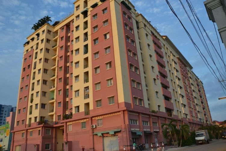 Chung cư Mỹ Thuận Căn hộ chung cư Mỹ Thuận tầng trung view nội khu yên tĩnh, thoáng mát.
