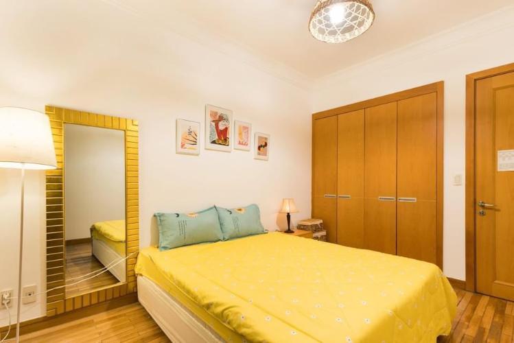 Phòng ngủ căn hộ The Manor, Quận Bình Thạnh Căn hộ tầng 21 The Manor gồm 2 phòng ngủ, đầy đủ nội thất.