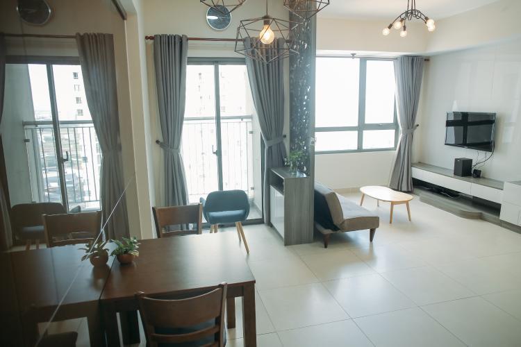 Căn hộ cao cấp Masteri Thảo thiết kế hiện đại, đầy đủ nội thất.