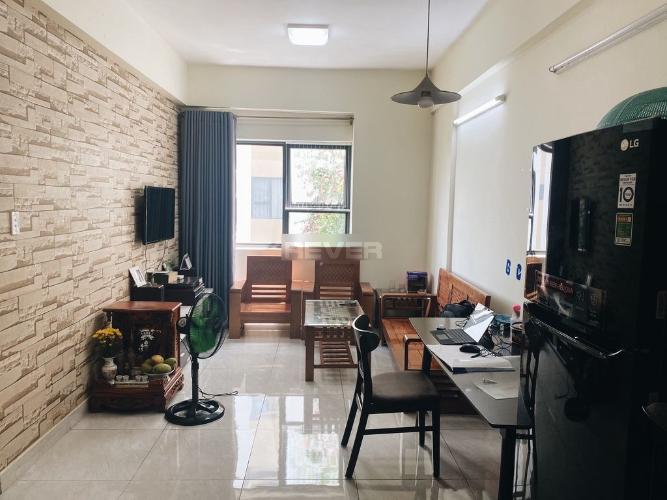 Căn hộ Thủ Thiêm Garden tầng 12 đón view thành phố, đầy đủ nội thất.