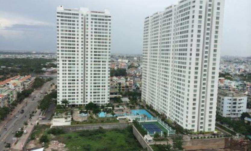 Chánh Hưng Giai Việt, Quận 8 Căn hộ Chánh Hưng Giai Việt tầng trung, nội thất đầy đủ.
