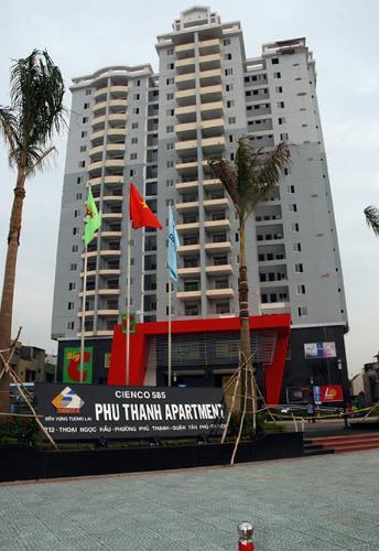 Phú Thạnh Apartment, Tân Phú Căn hộ Phú Thạnh Apartment tầng trung, ban công hướng Bắc.