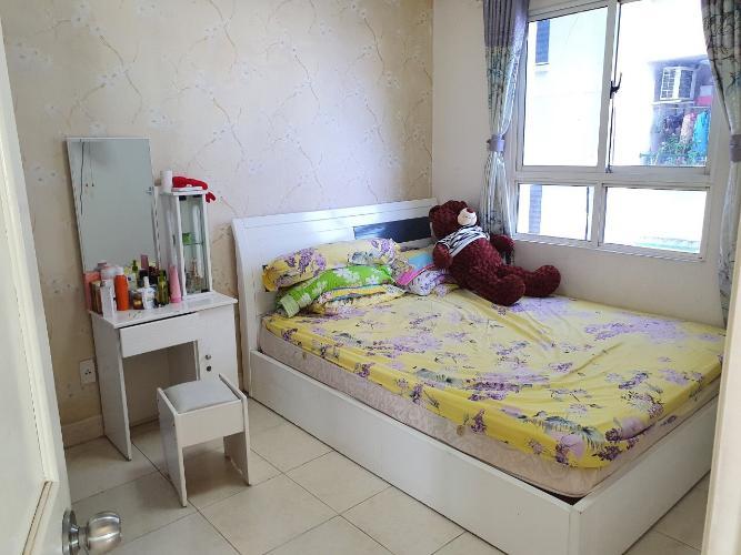 Phòng ngủ căn hộ Conic Đông Nam Á, Bình Chánh Căn hộ tầng 6 Conic Đông Nam Á hướng Tây Bắc, đầy đủ nội thất.