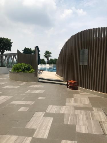 Tiện ích dự án Sunrise CityView Office-tel Sunrise Cityview ban công hướng Bắc, nội thất cơ bản.