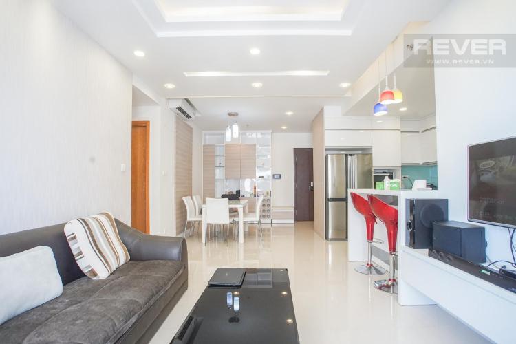 Cho thuê căn hộ Sunrise City 2PN, tháp W2 khu Central Plaza, đầy đủ nội thất, view hồ bơi