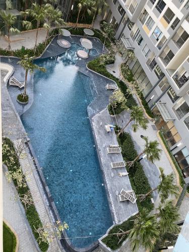 View hồ bơi Masteri An Phú Quận 2 Căn hộ tầng trung Masteri An Phú, đầy đủ nội thất.