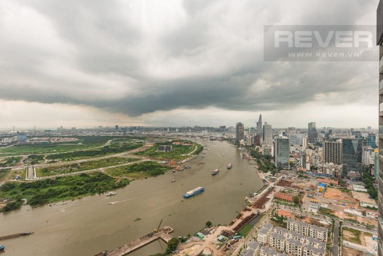 View căn hộ Vinhomes Golden River Cho thuê căn hộ Vinhomes Golden River 2PN, tầng cao, diện tích 72m2, đầy đủ nội thất, view sông Sài Gòn