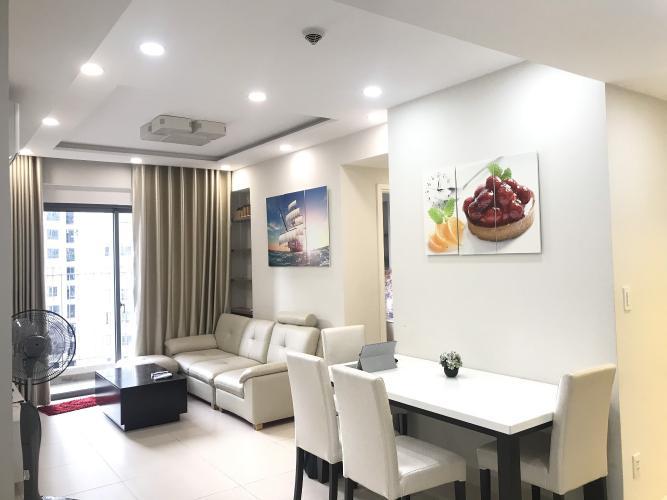 Căn hộ tầng 10 Masteri Thảo Điền cửa hướng Đông, view nội khu.