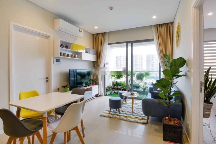 Căn hộ Diamond Island thiết kế độc đáo, nội thất đầy đủ tiện nghi.