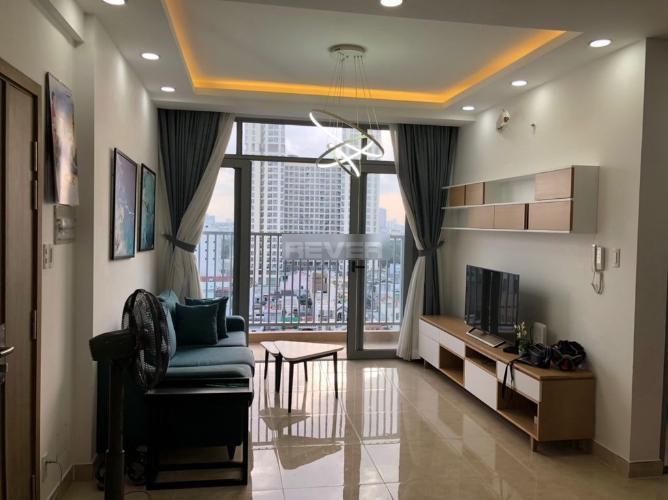 Căn hộ LuxCity tầng trung, bàn giao đầy đủ nội thất.