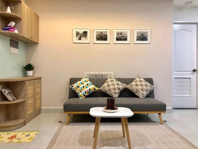 Căn Officetel Masteri Millennium tầng 4 thoáng mát, đầy đủ nội thất.
