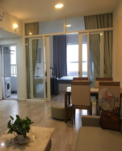 Phòng khách căn hộ Lexington Residence, Quận 2 Căn hộ Lexington Residence 2 phòng ngủ, bàn giao đầy đủ nội thất.