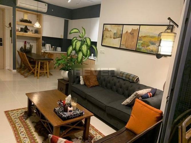 Căn hộ Palm Heights tầng cao đón gió mát mẻ, đầy đủ nội thất hiện đại.