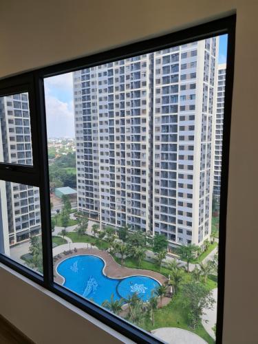Phòng ngủ Vinhomes Grand Park Quận 9 Căn hộ tầng cao Vinhomes Grand Park view nội khu, 2 phòng ngủ.