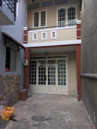 Nhà phố cửa chính hướng Tây Nam, diện tích sử dụng 150m2.
