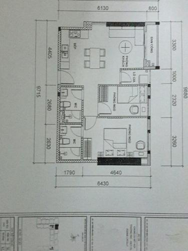 Căn hộ Asiana Capella tầng 5 thiết kế kỹ lưỡng, nội thất cơ bản.