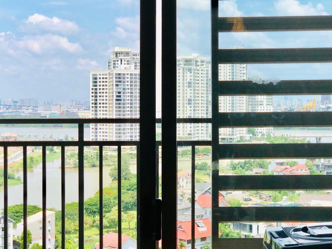 view căn hộ 1+1 phòng ngủ the sun avenue Căn hộ The Sun Avenue đón view nội khu, nội thất đầy đủ.
