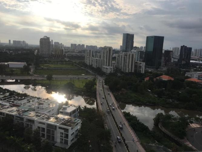 view Căn hộ Sunshine City Sài Gòn nội thất cơ bản.