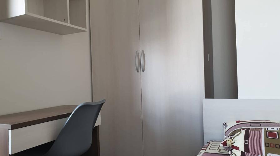 Phòng ngủ Cetana Thủ Thiêm, Quận 2 Căn hộ Centana Thủ Thiêm đầy đủ nội thất, hướng Tây Nam.