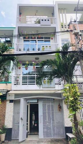 Mặt tiền nhà phố Quận Bình Tân Nhà phố mặt tiền đường 30 hướng Đông có sân thượng, đầy đủ nội thất.