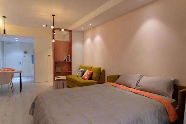 Phòng ngủ , Căn hộ 89-91 Nguyễn Du , Quận 1 Căn hộ 89-91 Nguyễn Du tầng 7 ban công hướng Đông, nội thất đầy đủ hiện đại.