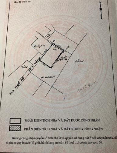 Bản vẽ nhà phố Nguyễn Văn Công, Gò Vấp Nhà phố hướng Đông Bắc, căn ngay góc hẻm 2 mặt tiền.