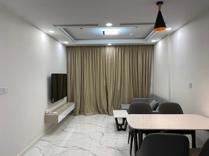 Phòng khách Sunshine City Sài Gòn, Quận 7 Căn hộ Sunshine City Sài Gòn đầy đủ nội thất, hướng Đông Nam.