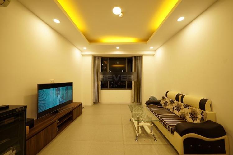 Căn hộ The Gold View tầng 10 cửa hướng Tây Bắc, nội thất cơ bản.