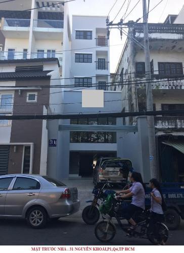 Nhà phố diện tích 260.9m2 hướng Đông Bắc, thiết kế dạng văn phòng.