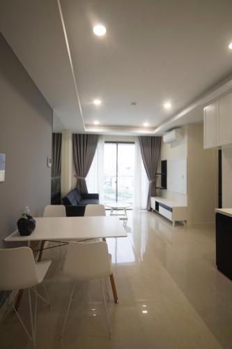 Căn hộ tầng 12 Masteri Millennium hướng Tây Bắc, đầy đủ nội thất.