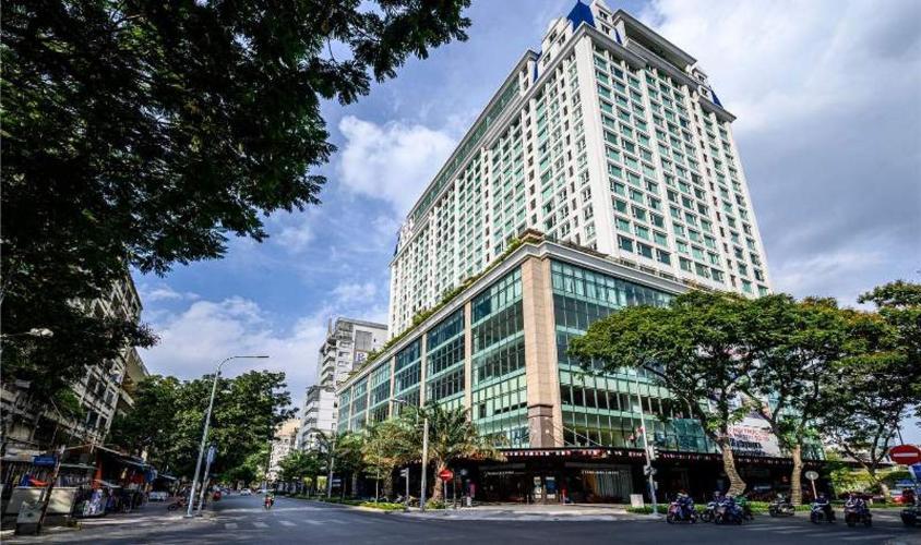 Căn hộ Léman Luxury Apartment , Quận 3 Căn hộ tầng 15 Léman Luxury Apartments hướng Tây bắc, đầy đủ nội thất.