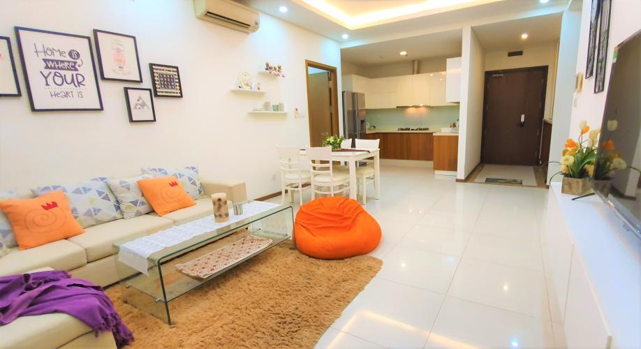 Căn hộ Thảo Điền Pearl tầng trung, nội thất đầy đủ tiện nghi.