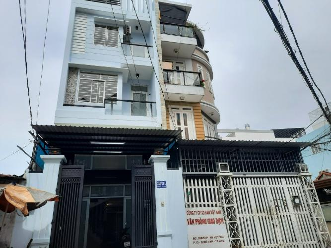 Nhà phố hướng Đông Nam, nằm trong hẻm rộng buôn bán sầm uất