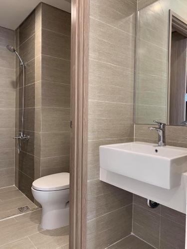Phòng tắm căn hộ Vinhomes Grand Park Căn hộ Vinhomes Grand Park view tầng cao thoáng mát, 1 phòng ngủ.