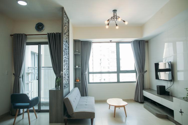 Căn hộ Masteri Thảo Điền tầng 24 view thoáng mát, nội thất đầy đủ.