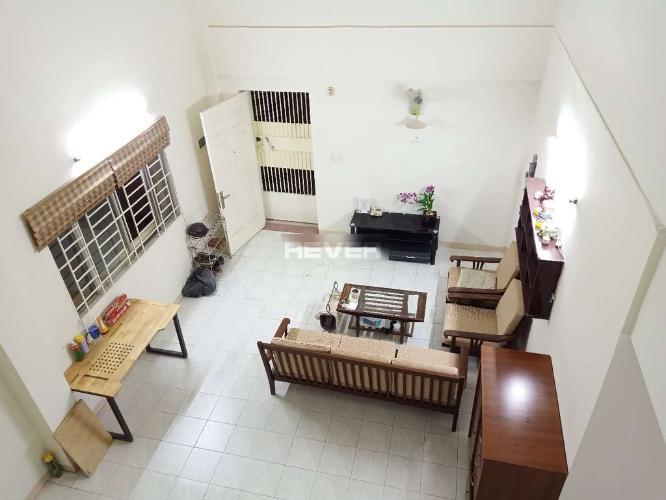 Phòng khách chung cư Mỹ Thuận, Quận 8 Căn hộ chung cư Mỹ Thuận đầy đủ nội thất, hướng Đông Nam.
