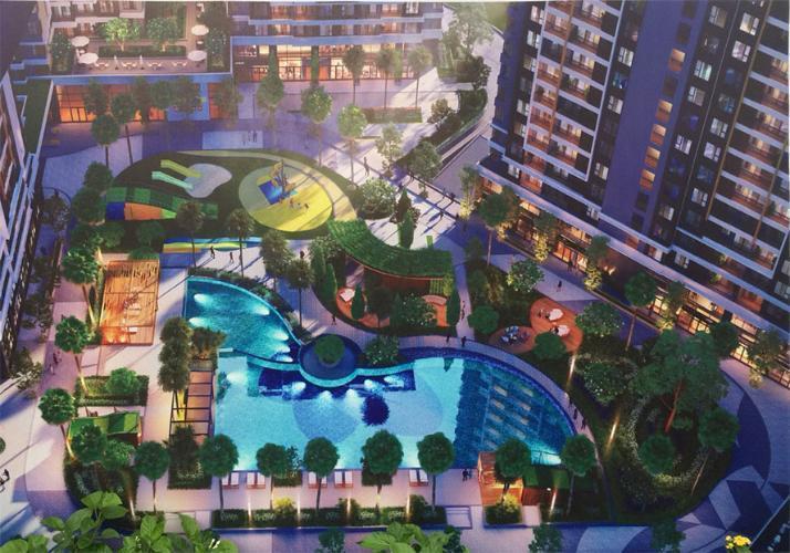 Tiện ích Safira Khang Điền, Quận 9 Căn hộ Safira Khang Điền view hướng Đông, nội thất cơ bản.