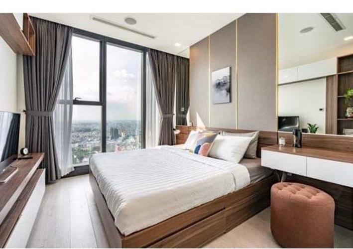 phòng ngủ Vinhomes Golden River Căn hộ Vinhomes Golden River 2PN tầng trung đầy đủ nội thất