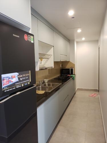 Phòng bếp Happy Residence Quận 7 Căn hộ Happy Residence view thành phố, đầy đủ nội thất.