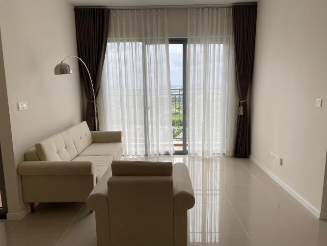 Căn hộ tầng cao Palm Heights view thoáng mát, nội thất cơ bản hiện đại.