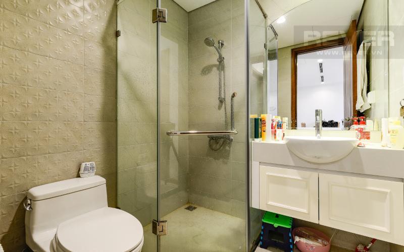 phòng tắm Căn hộ Vinhomes Central Park tầng cao Central 1 đầy đủ tiện nghi