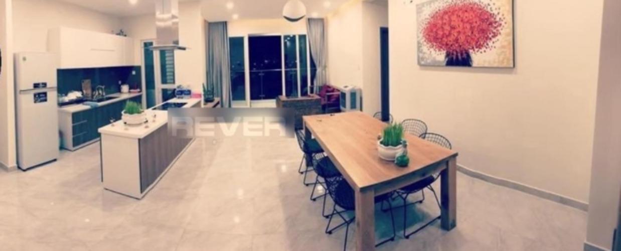 Phòng khách Sunny Plaza, Gò Vấp Căn hộ Sunny Plaza đầy đủ nội thất, hướng Đông Nam.