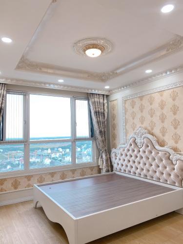 Phòng ngủ căn hộ Vista Verde Căn hộ Vista Verde đầy đủ tiện nghi, view thành phố tuyệt đẹp.