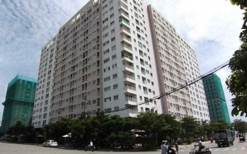 Green Hills Apartment, Bình Tân Căn hộ Green Hills Apartment hướng Nam tầng trung.