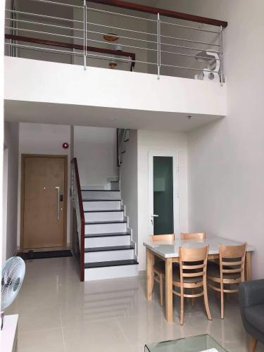 Phòng ăn căn hộ Vista Verde Quận 2 Căn hộ Duplex Vista Verde tầng trung, đầy đủ nội thất.