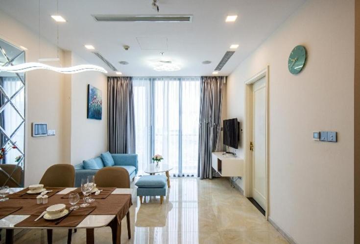 Căn hộ Vinhomes Golden River view thành phố, nội thất đầy đủ.
